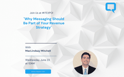 """MacLindsay Mitchell will be speaking on """"The Revenue Strategy Of Messaging Panel"""" on the 23rd at 10 am 